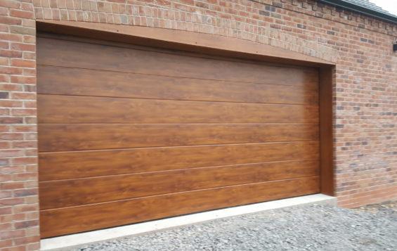 sectional garage doors shropshire