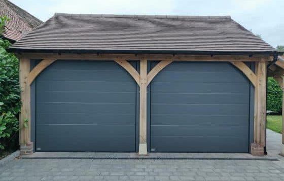 sectional garage doors Market Drayton