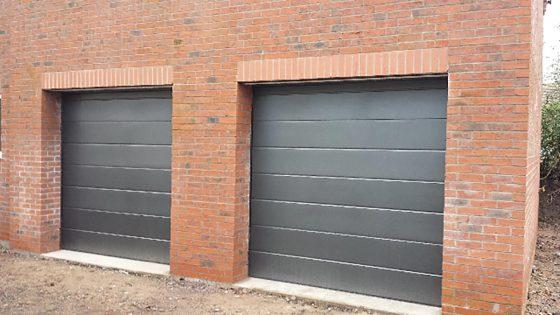 sectional garage doors Manchester