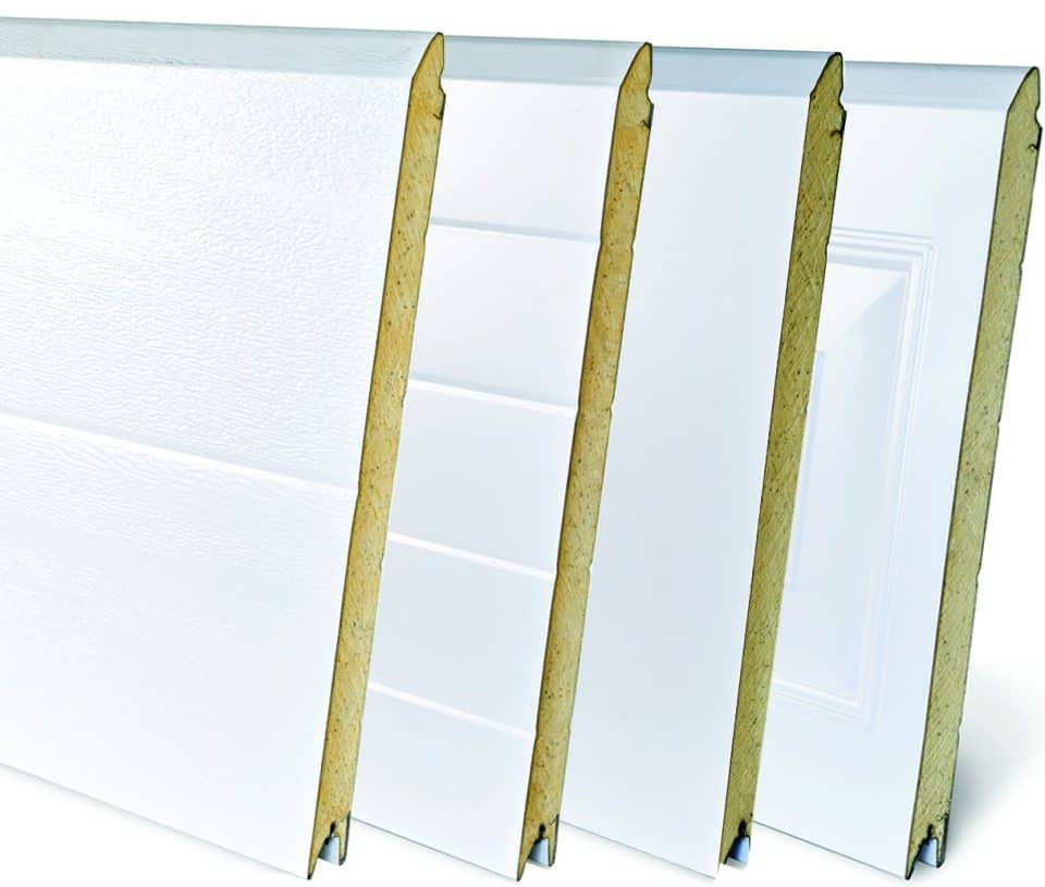 Dynamic doors solution sectional insulation